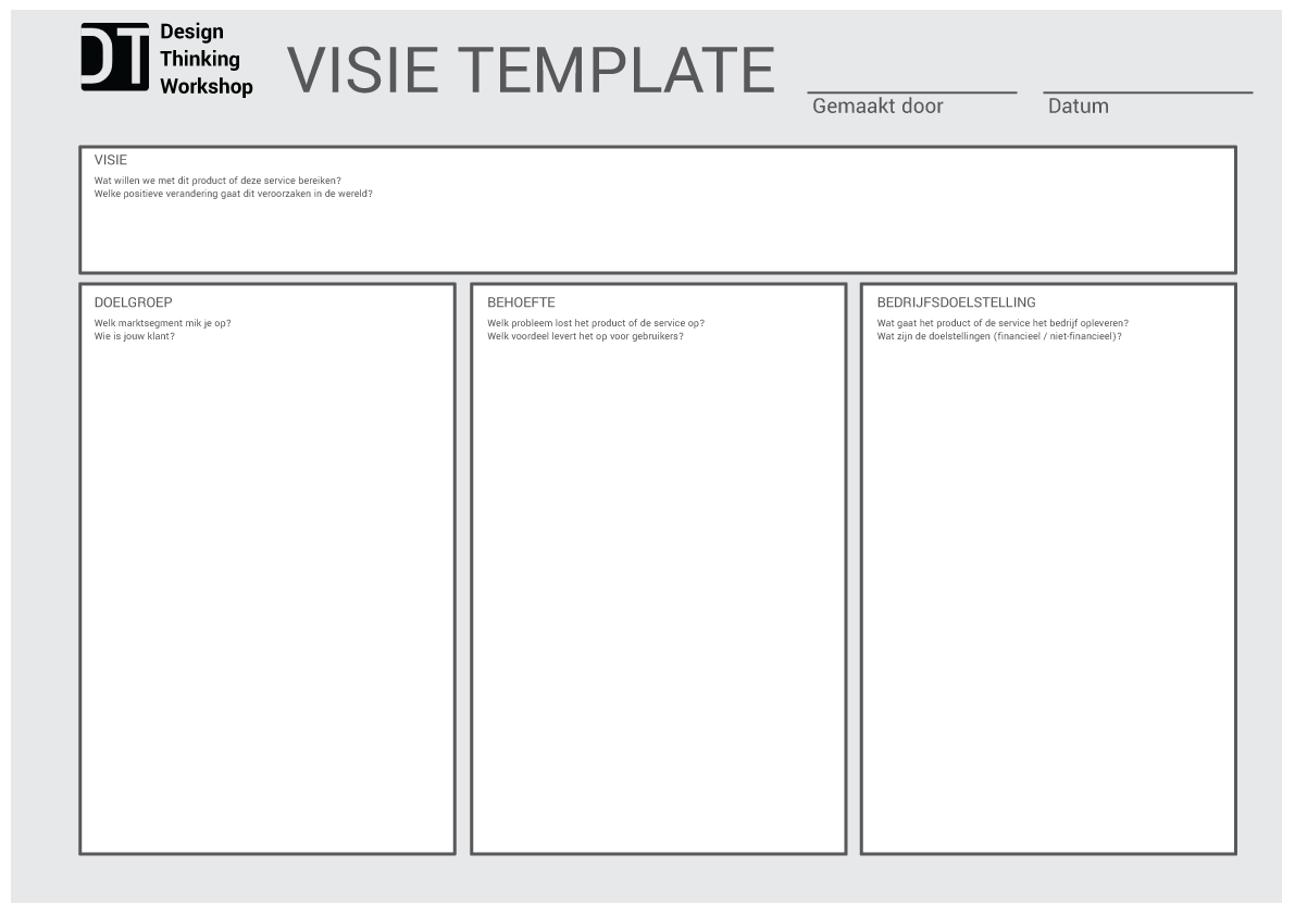design-thinking-visie-template-voor-start-project