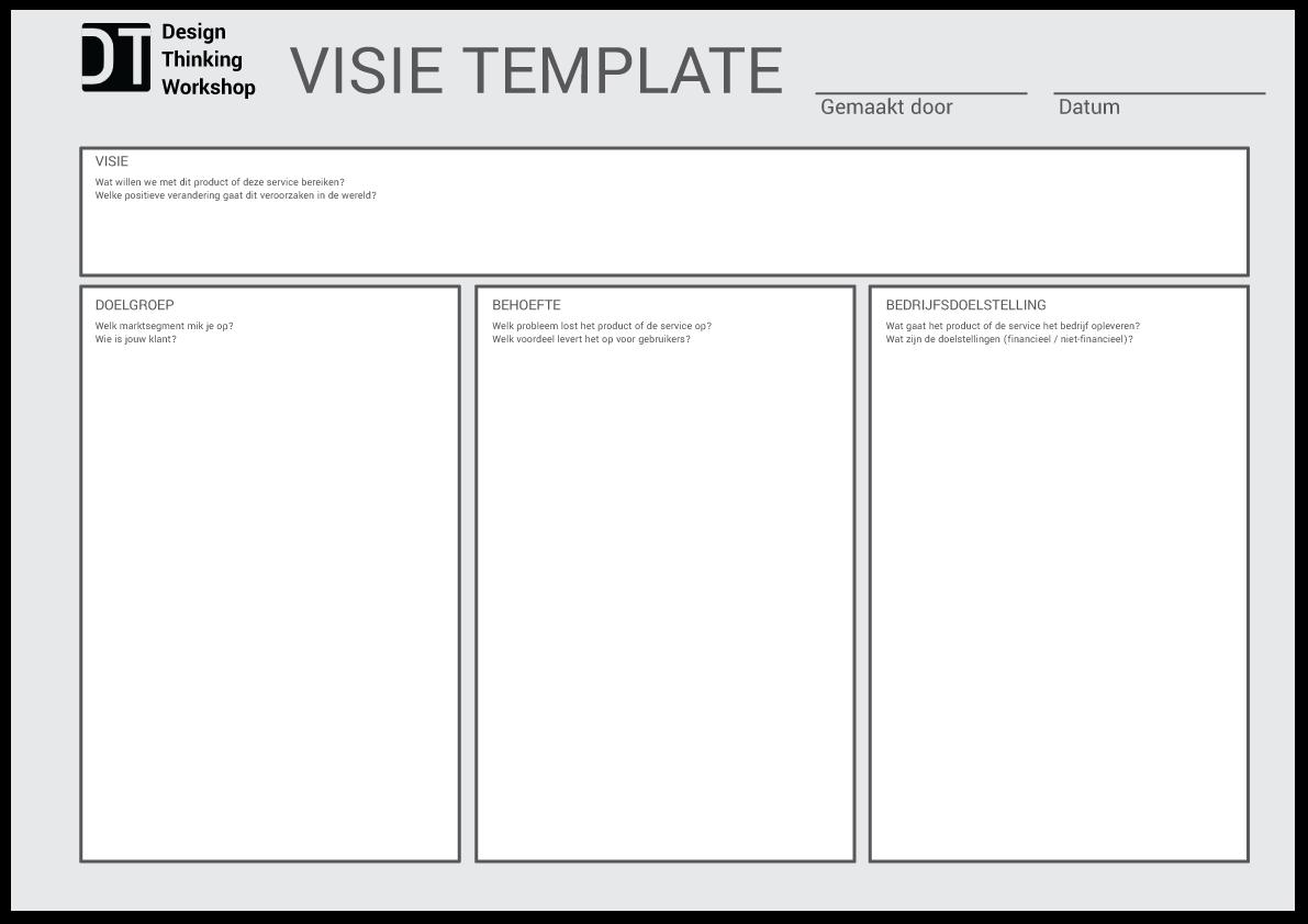 design-thinking-visie-template-voor-start-project