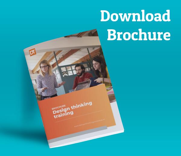 design thinking training brochure